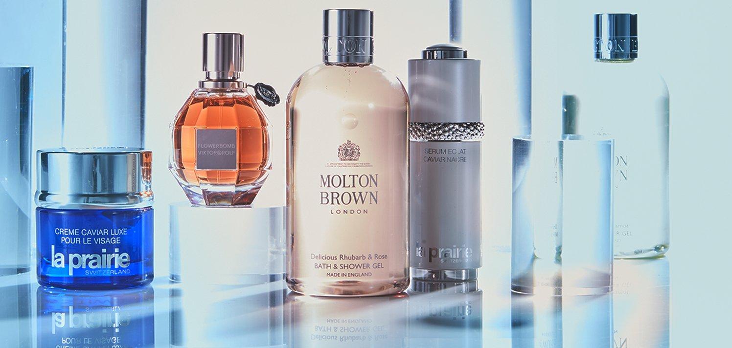 La Prairie, Molton Brown London & More. The Luxe Beauty Counter.