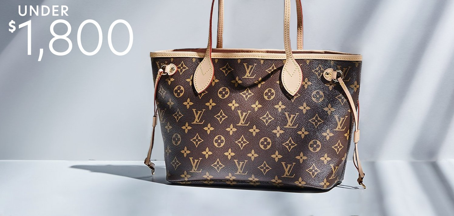 Pre-Loved Louis Vuitton: Just Reduced