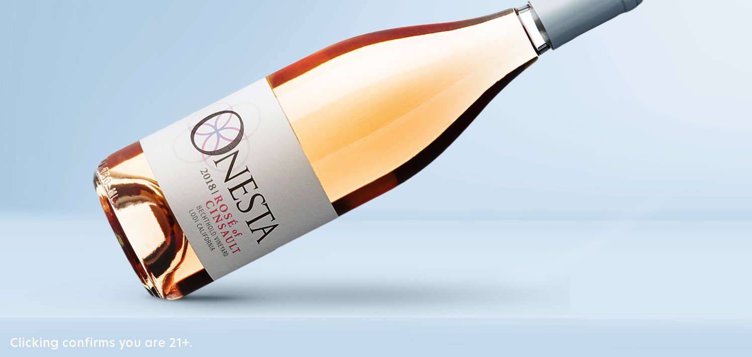 Provençal-Style Rosé From Onesta Wines