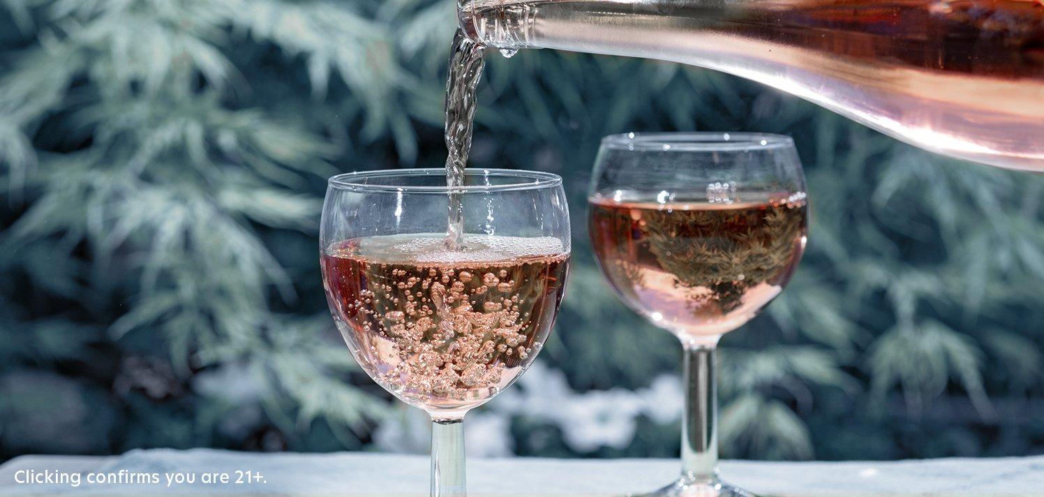 Sparkling Rosé Cava From Spain