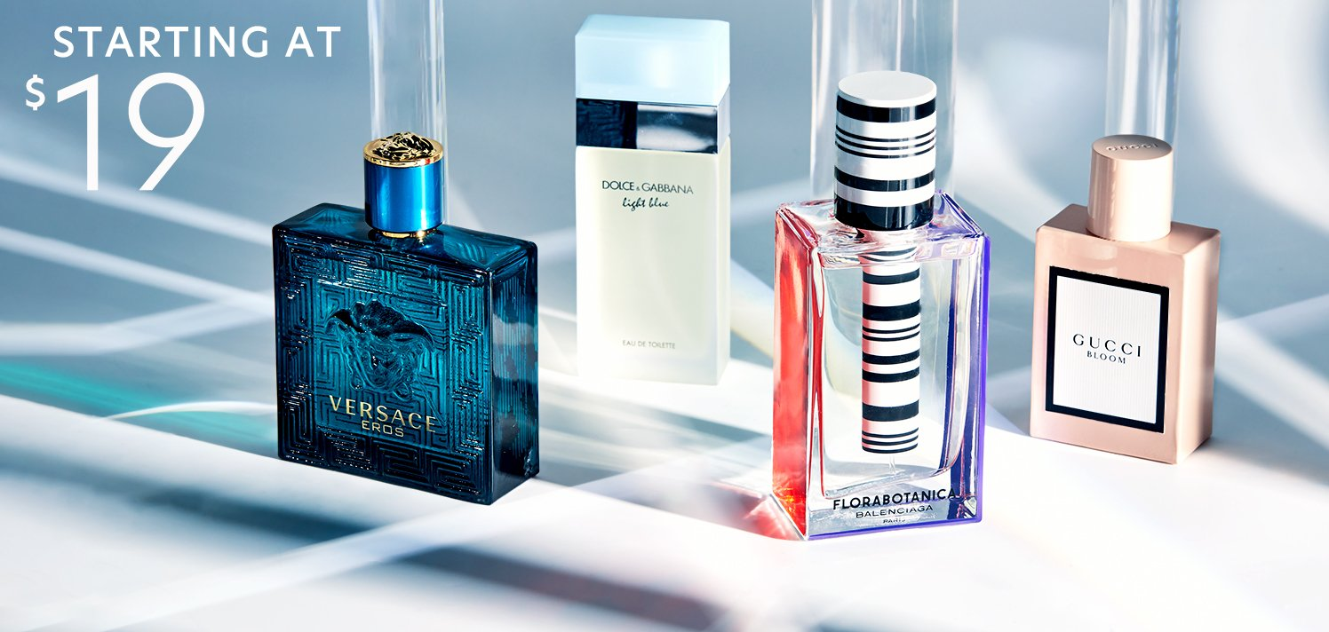 In-Season Fragrances for Women & Men
