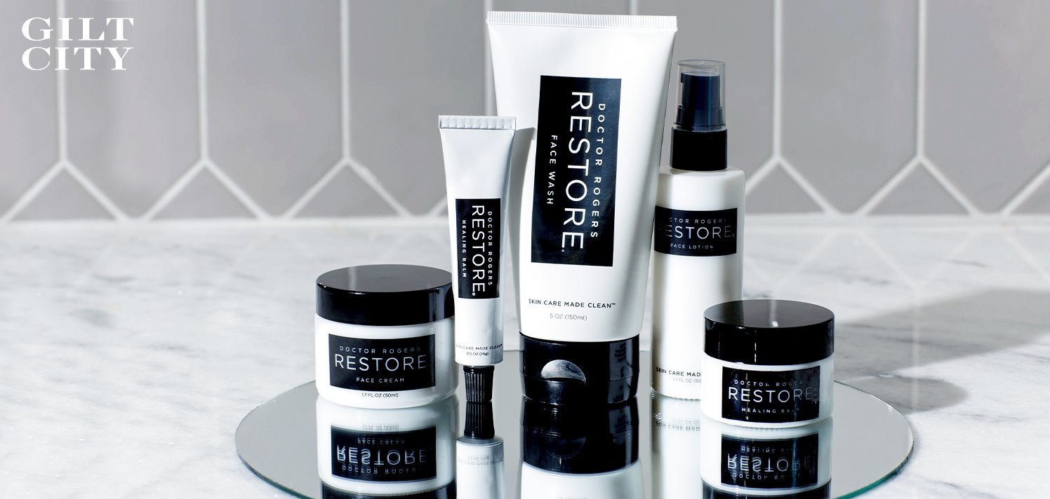 Doctor Rogers RESTORE: 40% Off Sustainable Skincare