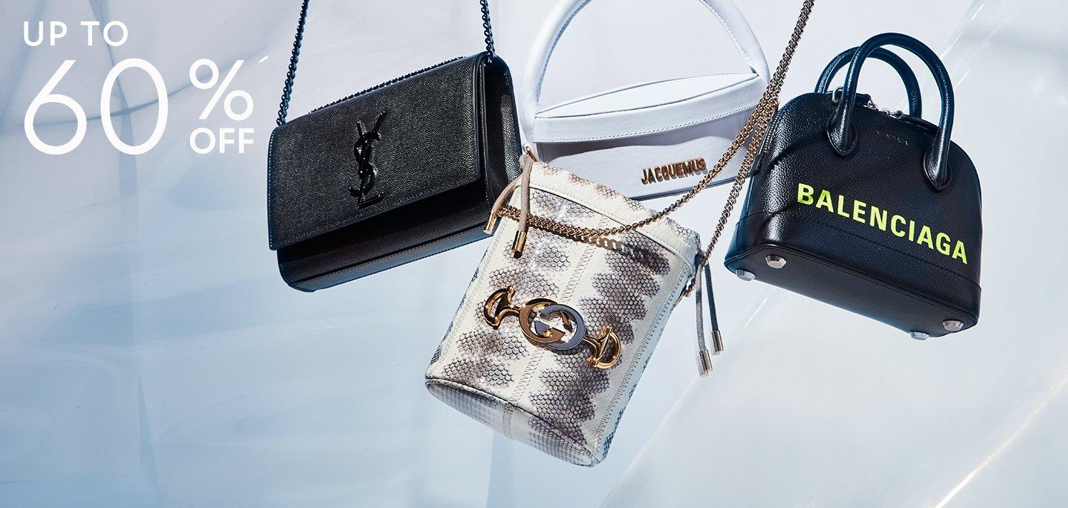 The Luxe Handbag Suite: New Balenciaga & More