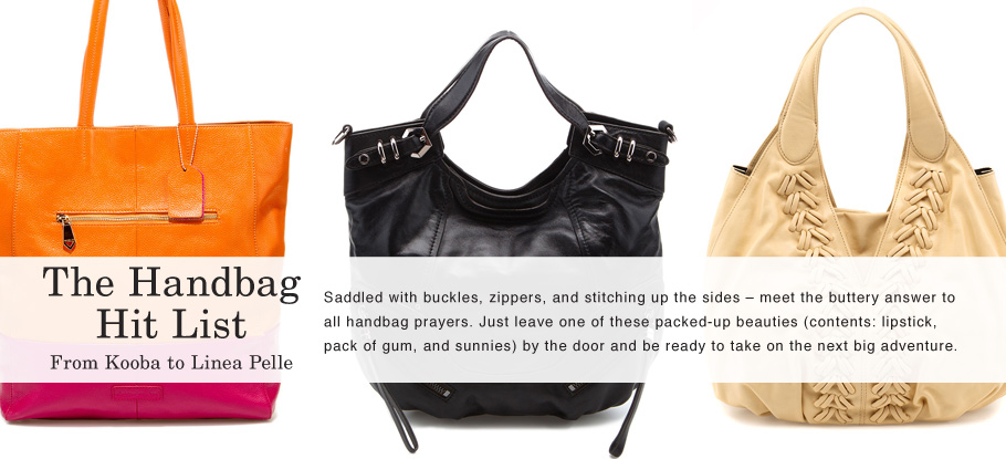 The Handbag Hit List: Kooba to Linea Pelle