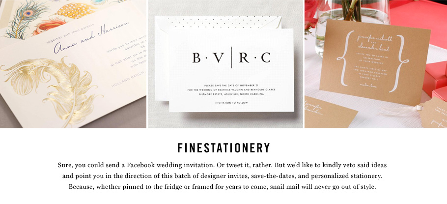 FineStationery Invites, Save-the-Dates, & More