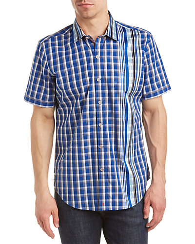 Robert Graham Lyle Tailored Fit Woven Shirt
