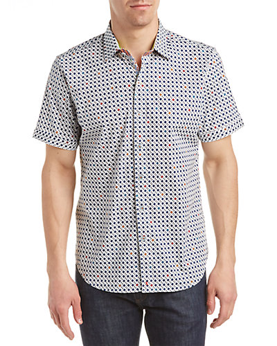 Robert Graham Francesco Tailored Fit Woven Shirt