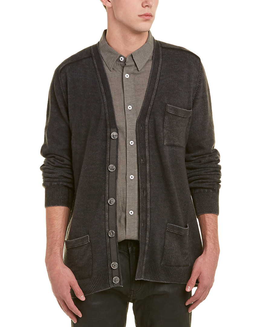 aed499f1114 Details about Robert Graham Mens Mister Rogers Wool & Cashmere-Blend  Sweater Cardigan, L,