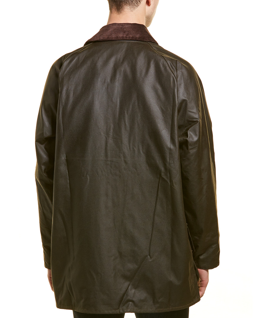 Barbour-Classic-Beaufort-Wax-Jacket-Men-039-s thumbnail 6
