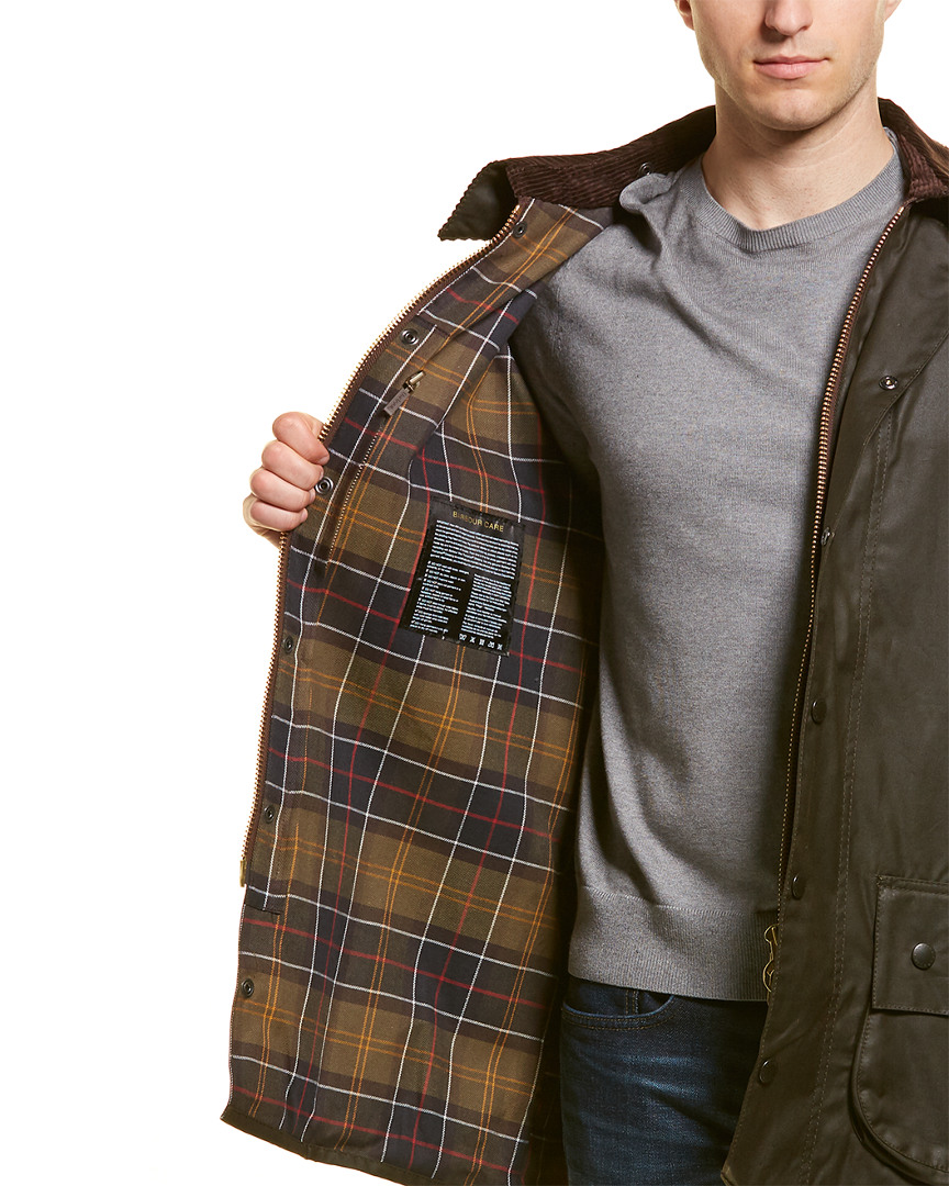 Barbour-Classic-Beaufort-Wax-Jacket-Men-039-s thumbnail 7
