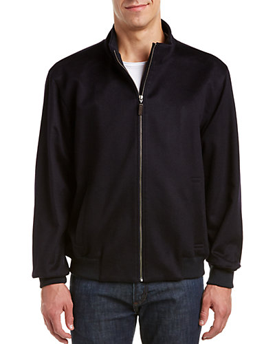 Forte Cashmere Baseball Jacket