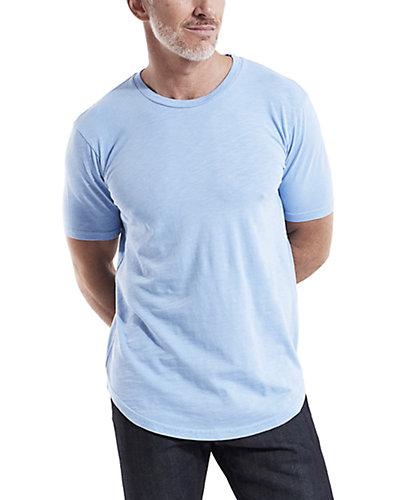 Rue La La — Goodlife Clothing Tri-Blend Scallop Crewneck T-Shirt