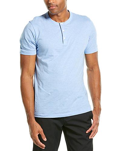 Rue La La — Theory Classic Henley S.Fee Shirt