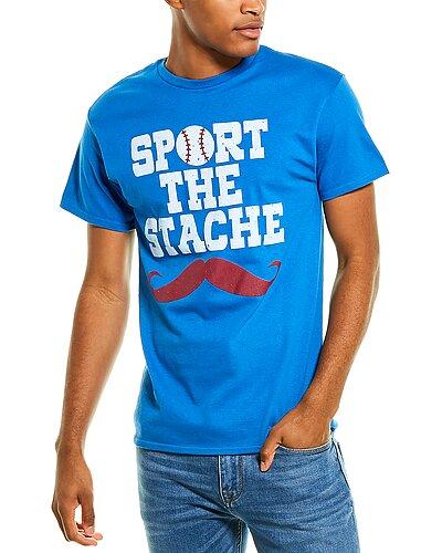 Rue La La — 7th Inning Stretch Sport The Stache T-Shirt