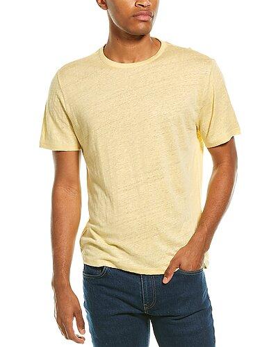 Rue La La — Vince Crewneck Linen T-Shirt