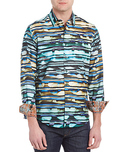 Robert Graham Hooligans Woven Shirt
