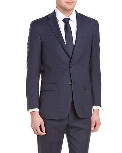 Hart Schaffner Marx Suit with Flat Front Pant