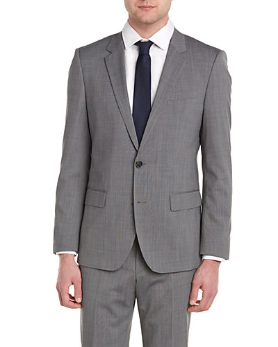 BOSS Hugo Boss Halsey2/Merrill 2 Suit with Flat Front Pant