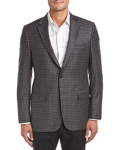 Hickey Freeman Milburn II Wool & Cashmere-Blend Sport Coat