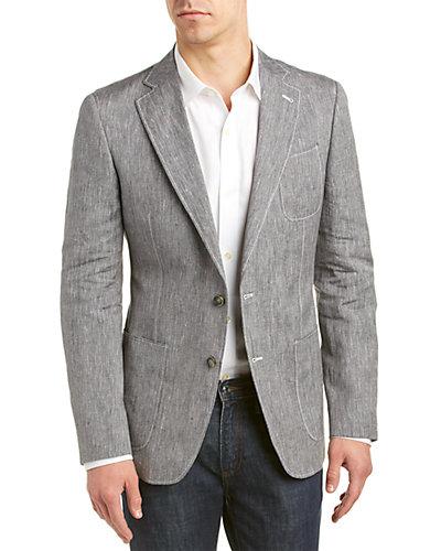 Robert Graham Avalon Linen-Blend Jacket