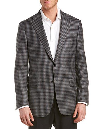Hickey Freeman Beacon Wool & Cashmere-Blend Sport Coat