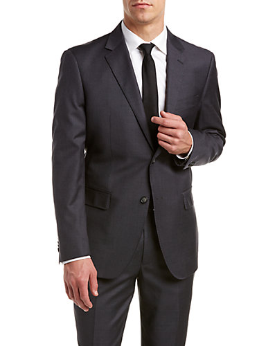 Rosetti Uomo Super 150s Wool Suit with Flat Front Pant