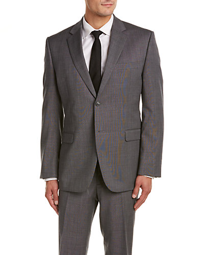 Bruno Piatelli Classic Fit Wool Suit with Flat Front Pant