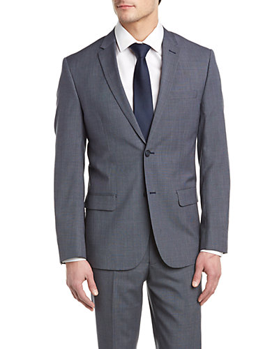 DKNY Duke Suit with Flat Front Pant