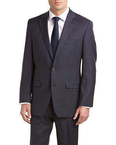 Lauren Ralph Lauren Classic Fit Suit with Flat Front Pant