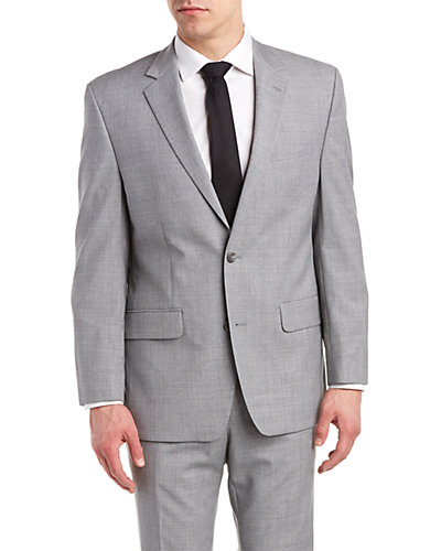 MICHAEL Michael Kors Classic Fit Suit with Flat Front Pant