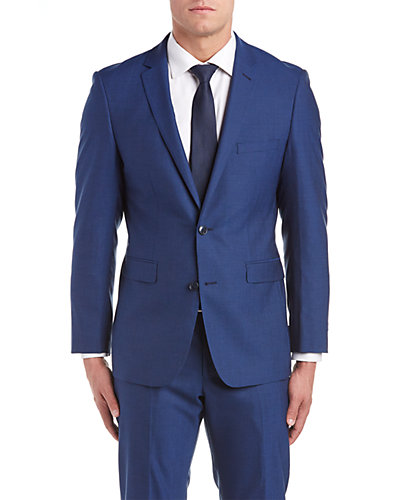 Vince Camuto Slim Fit Suit with Flat Front Pant