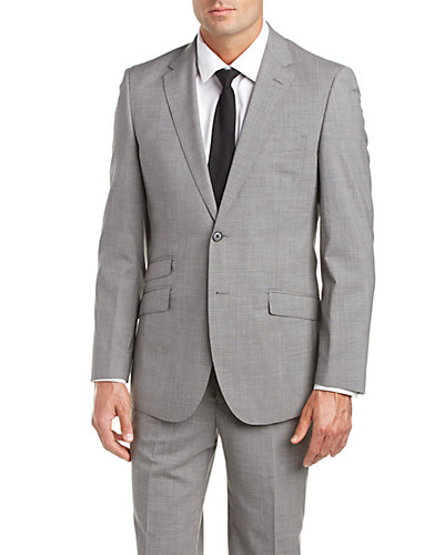 English Laundry Slim Fit Suit with Flat Front Pant