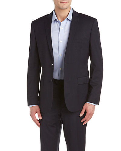Versace 19V69 Solid Suit with Flat Front Pant