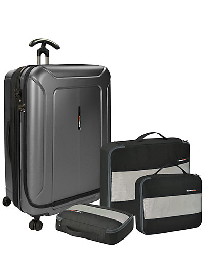 Traveler's Choice Barcelona 30in Hardside Spinner and Packing Cubes