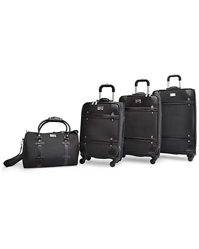 Adrienne Vittadini Metro 4pc Luggage Set