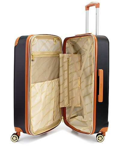 19v69 Italia Vintage 3pc Expandable Spinner Luggage Set as seen on All Access Access Hollywood deals