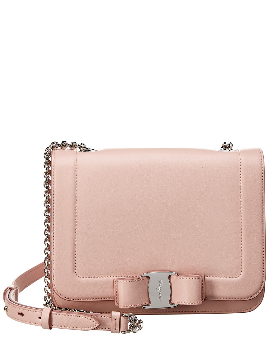 Salvatore Ferragamo Vara Small Leather Shoulder Bag 0b0e4f6b54fcb