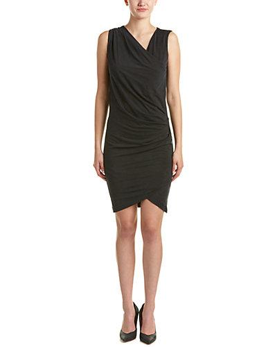 Nicole Miller Artelier Faux Wrap Dress