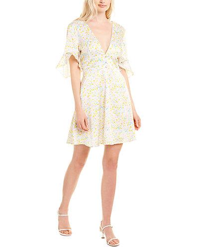 Rue La La — Hutch Satin Mini Dress