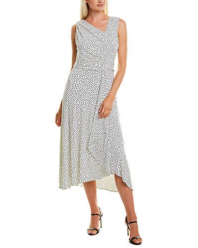 Rue La La — Taylor Draped Midi Dress