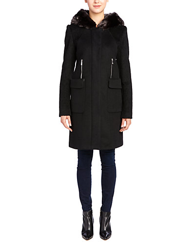Dawn Levy 2 Laura Wool-Blend Coat