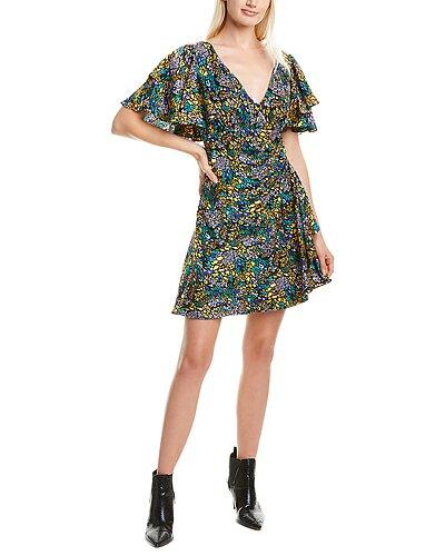 Rue La La — Tanya Taylor Demi Silk Mini Dress