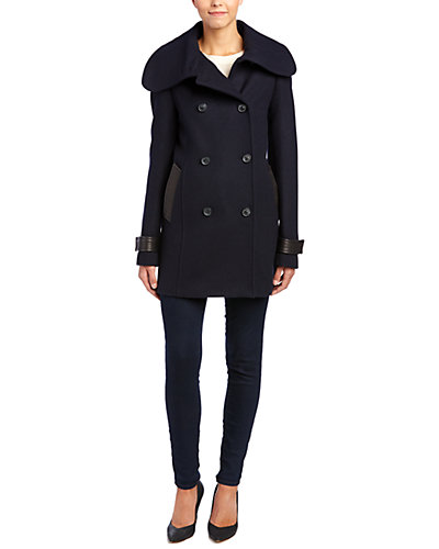 Macakage Patricia Double-Breasted Wool-Blend Coat