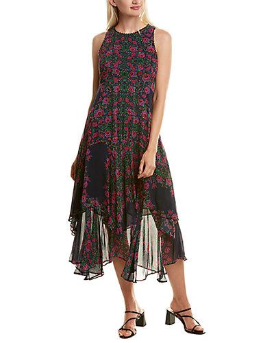 Rue La La — Nanette Lepore Magic Garden Midi Dress