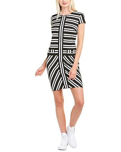 Rue La La — KARL LAGERFELD Striped Shift Dress