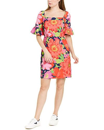 Rue La La — Trina by Trina Turk Mini Kanan Sheath Dress