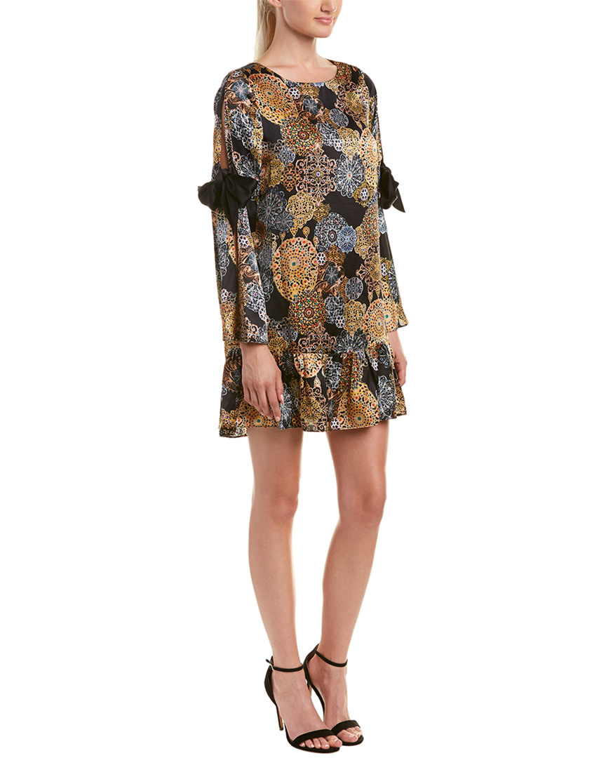 Nicole Miller ARTELIER SILK SHIFT DRESS