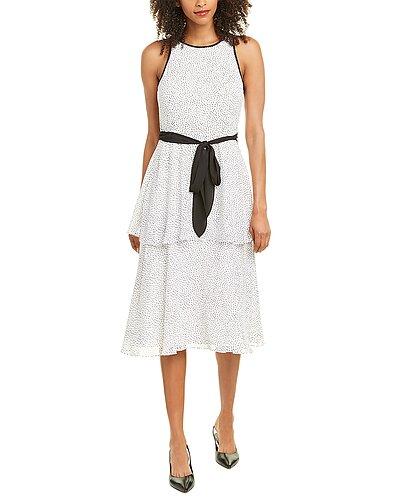 Rue La La — Adrianna Papell Tiered Midi Dress