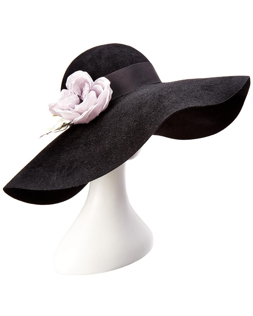 78b4136e9e0c6 Gucci Womens Wide Brim Hat With Silk Flowers