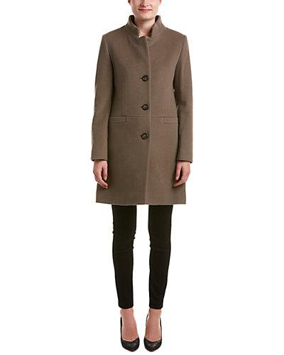 Cinzia Rocca Icons Wool & Angora-Blend Coat